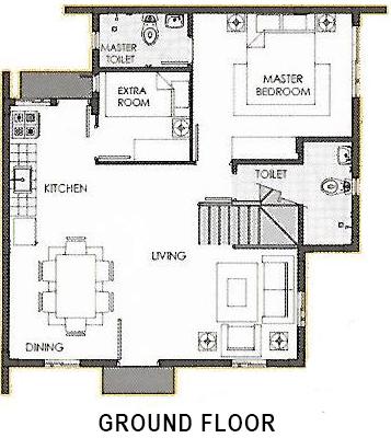 camella homes ella ground floor plan