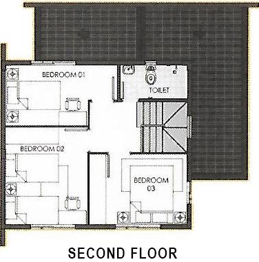 camella homes ella second floor plan