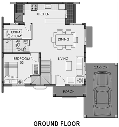 camella homes freya ground floor plan