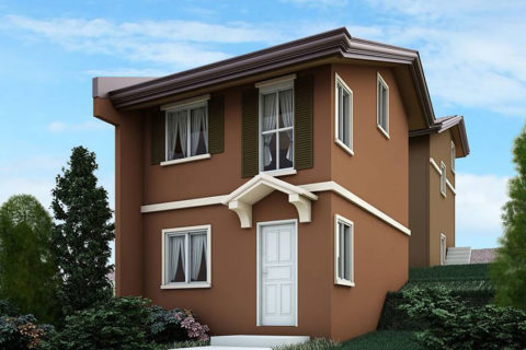 camella riverfront cebu hannela uphill house model