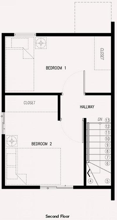 ezabelle second floor plan