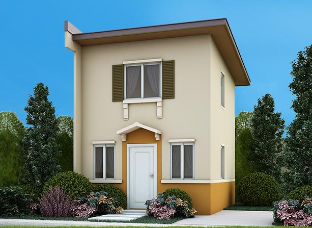 camella homes frielle house model