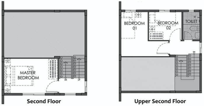 camella homes isabela second floor plan