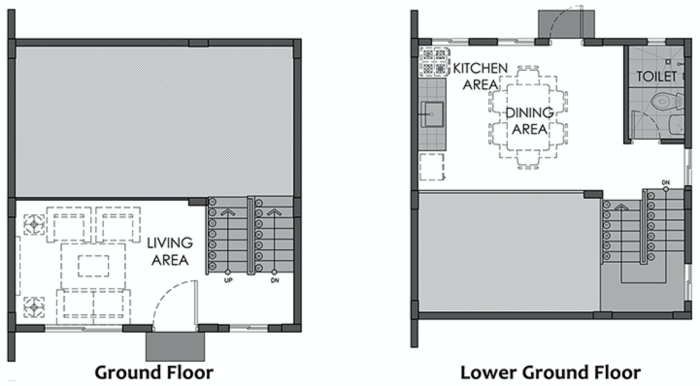 issa downhill ground floor plan