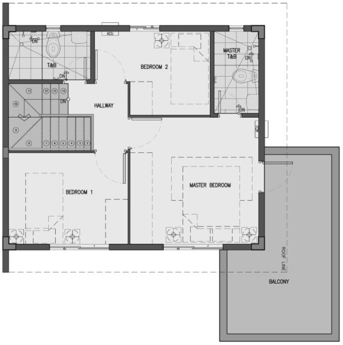 dani second floor plan